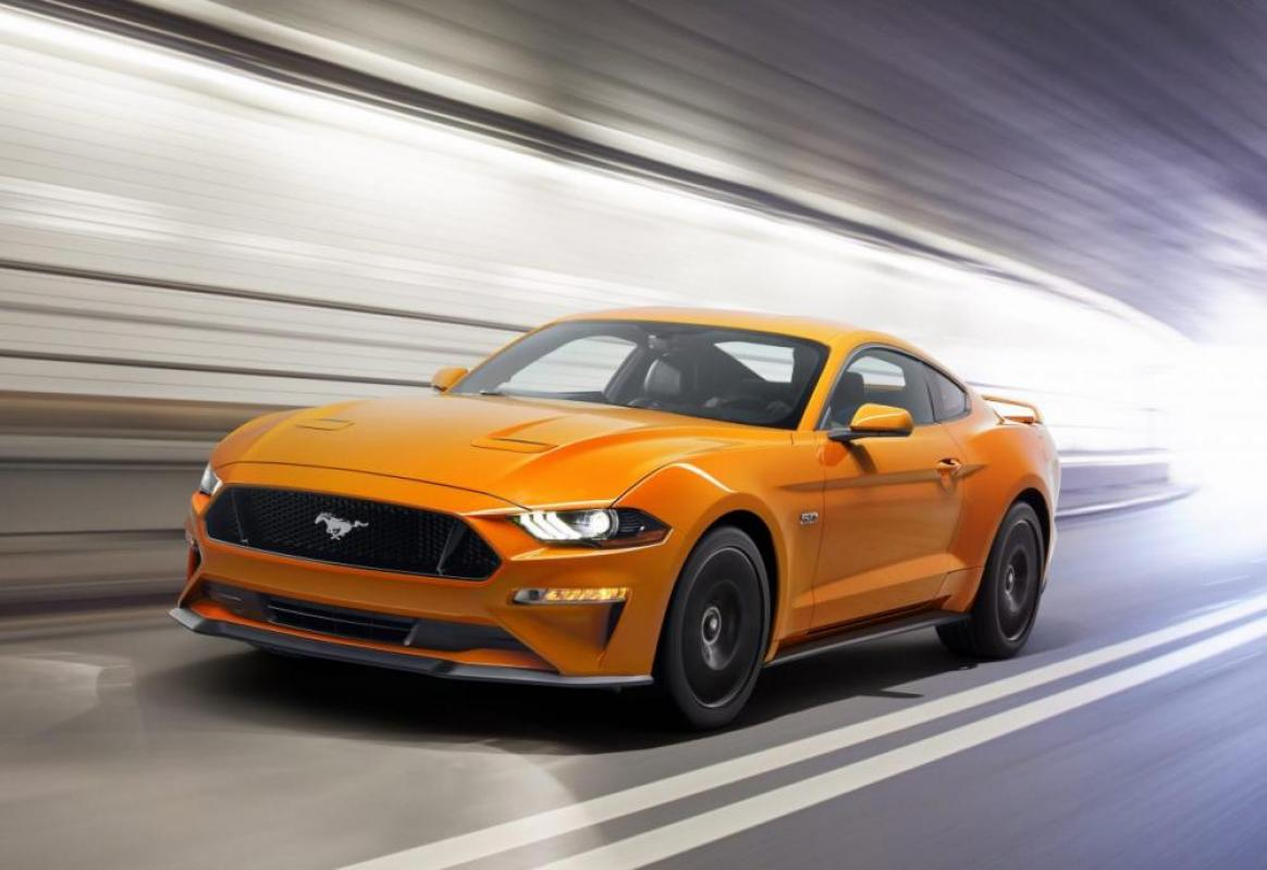 2018 Ford Mustang V8 GT -